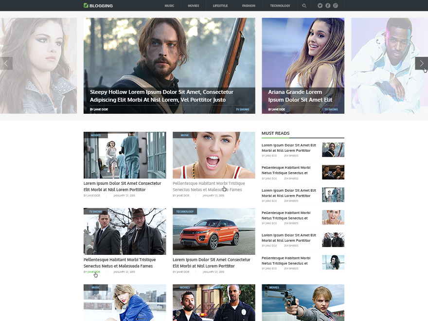 Blogging - Beautiful & Responsive WordPress Theme