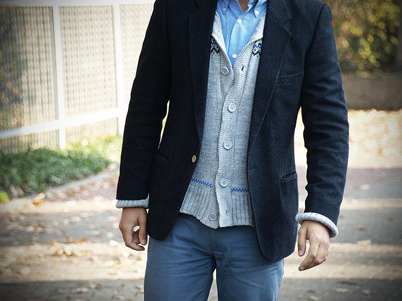 4fd7d9667355c A dzisiaj sweter kardigan! - Casualism Blog Moda Męska