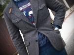 PRAWIE święta! Sweter w renifery ;)