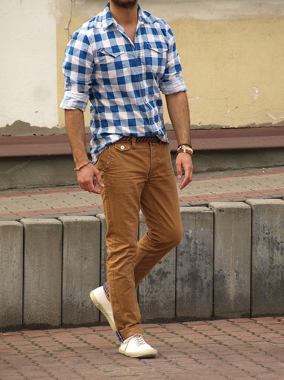 c8096ec06b709 Męska koszula w kratę i...- Casualism Blog Moda Męska