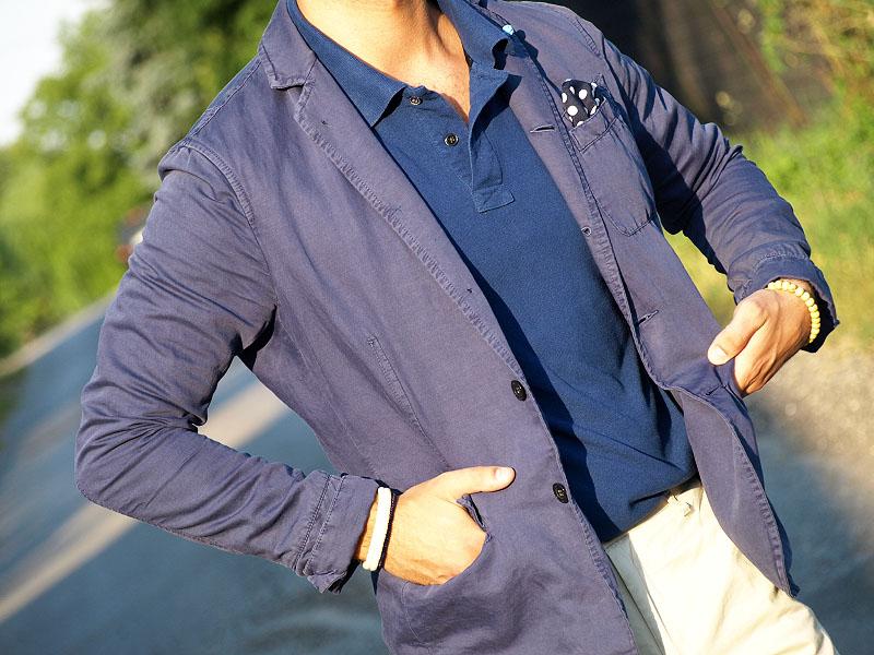 1bbdae72ac3325 Pod marynarką koszulka polo. Co daje jej użycie w miejsce zazwyczaj  zaiwanione przez koszulę? Luz. Luz, aczkolwiek zgodny z kanonami  klasycznego stylu ...