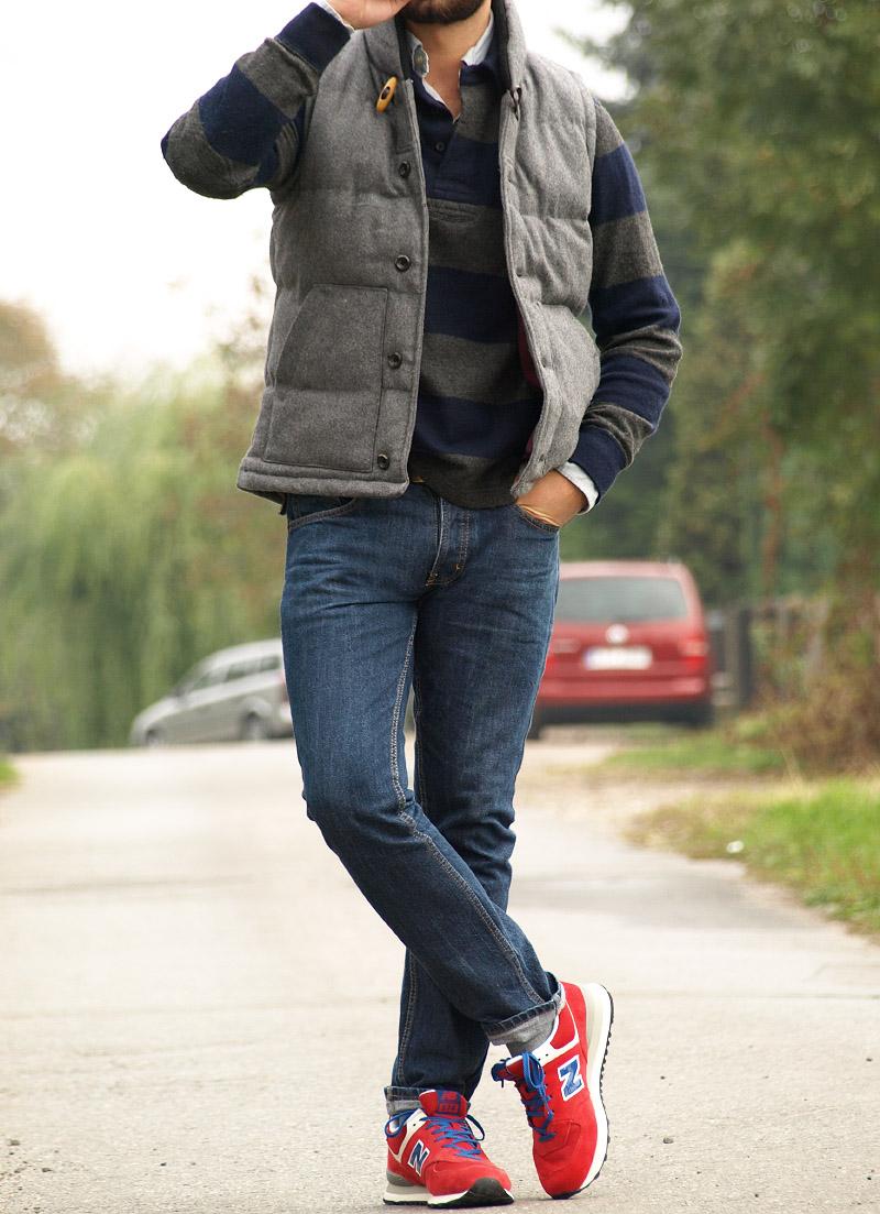 stabilna jakość tak tanio jakość wykonania Czerwone New Balance - Casualism Blog Moda Męska