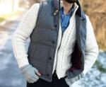 Wpół zimy, wpół jesieni – Gruby sweter męskie