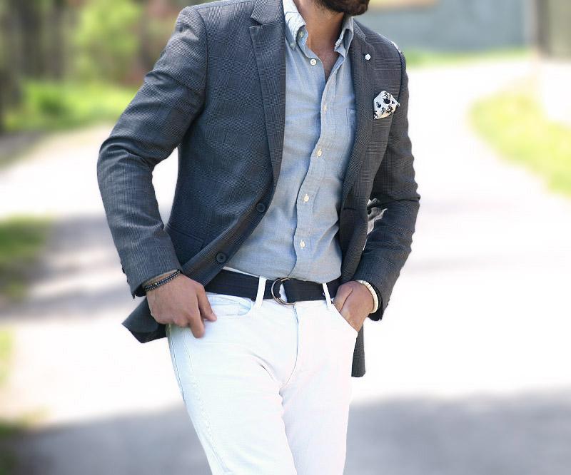 e0871ab79b2dd Białe spodnie męskie - Casualism Blog Moda Męska