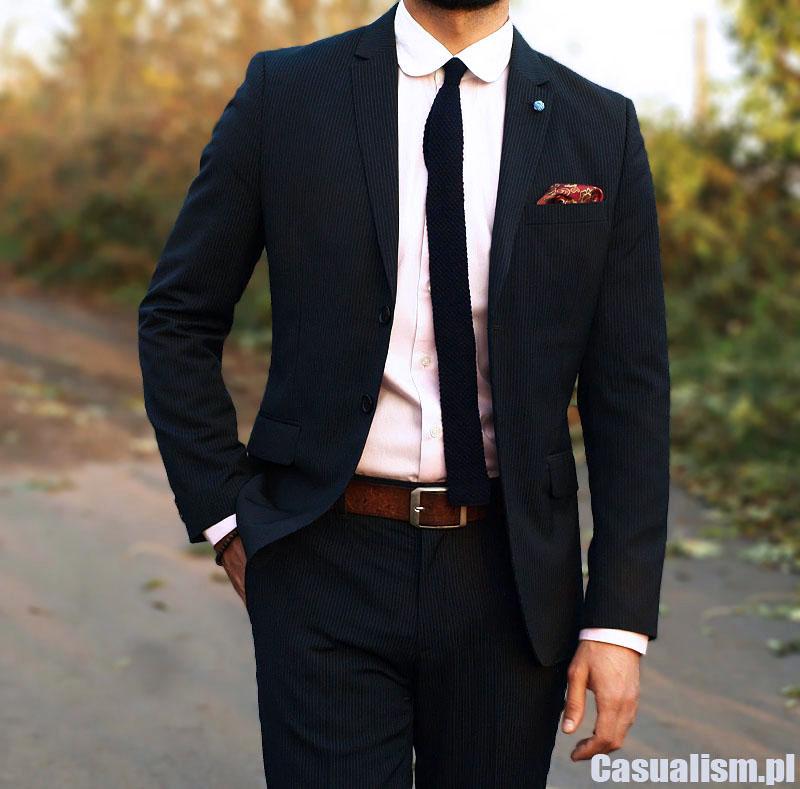 fcaf554acf92b Garnitur w prążek - Casualism Blog Moda Męska