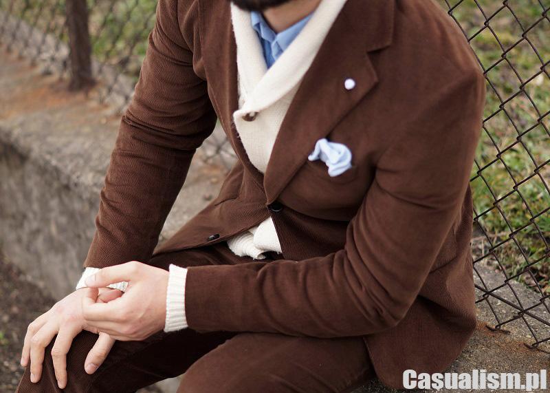 19556276c50d4 Sztruksowy garnitur - zestaw - Casualism Blog Moda Męska