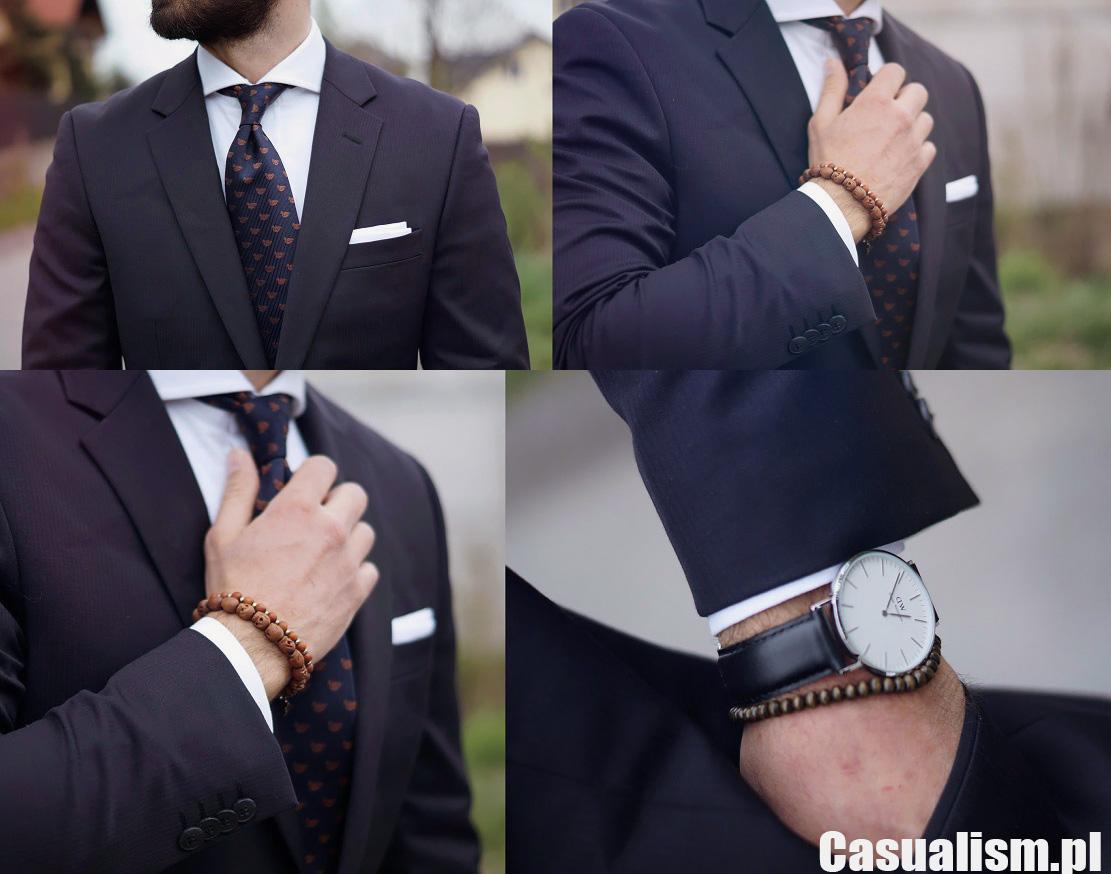 Szeroki kołnierz w koszuli Casualism Blog Moda Męska