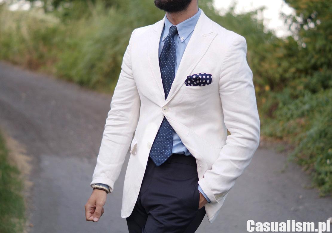 13b80ee8b44f8 Biała marynarka i koszula - Casualism Blog Moda Męska