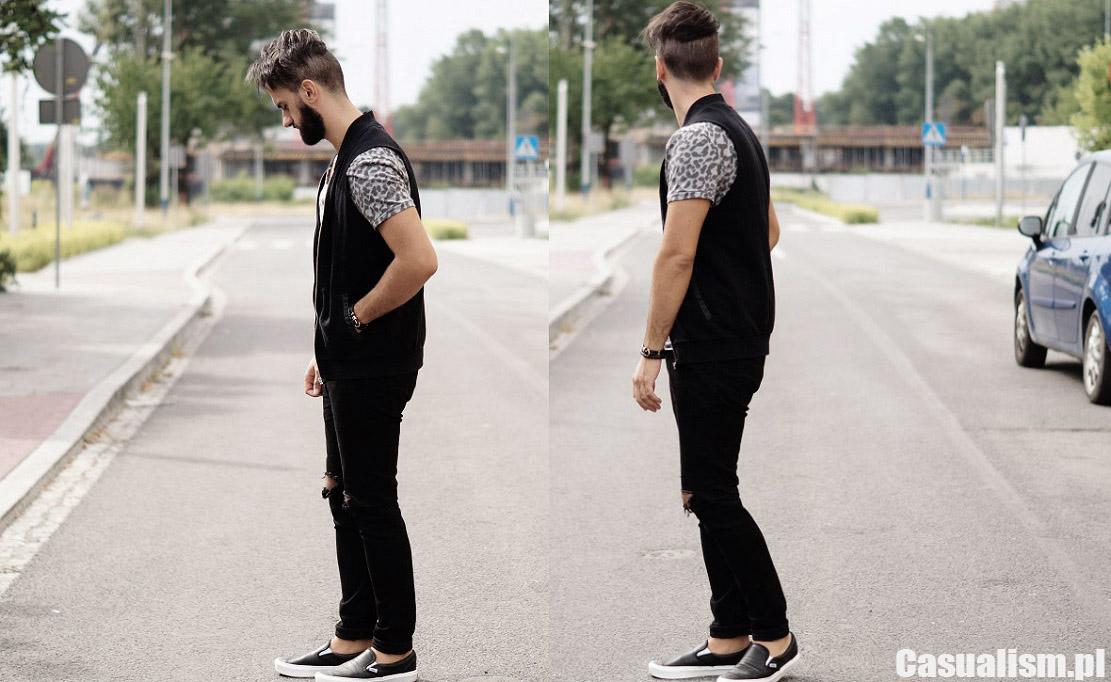 Styl męski street wear