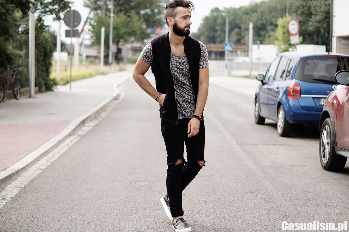 Streetwear męskie ubrania