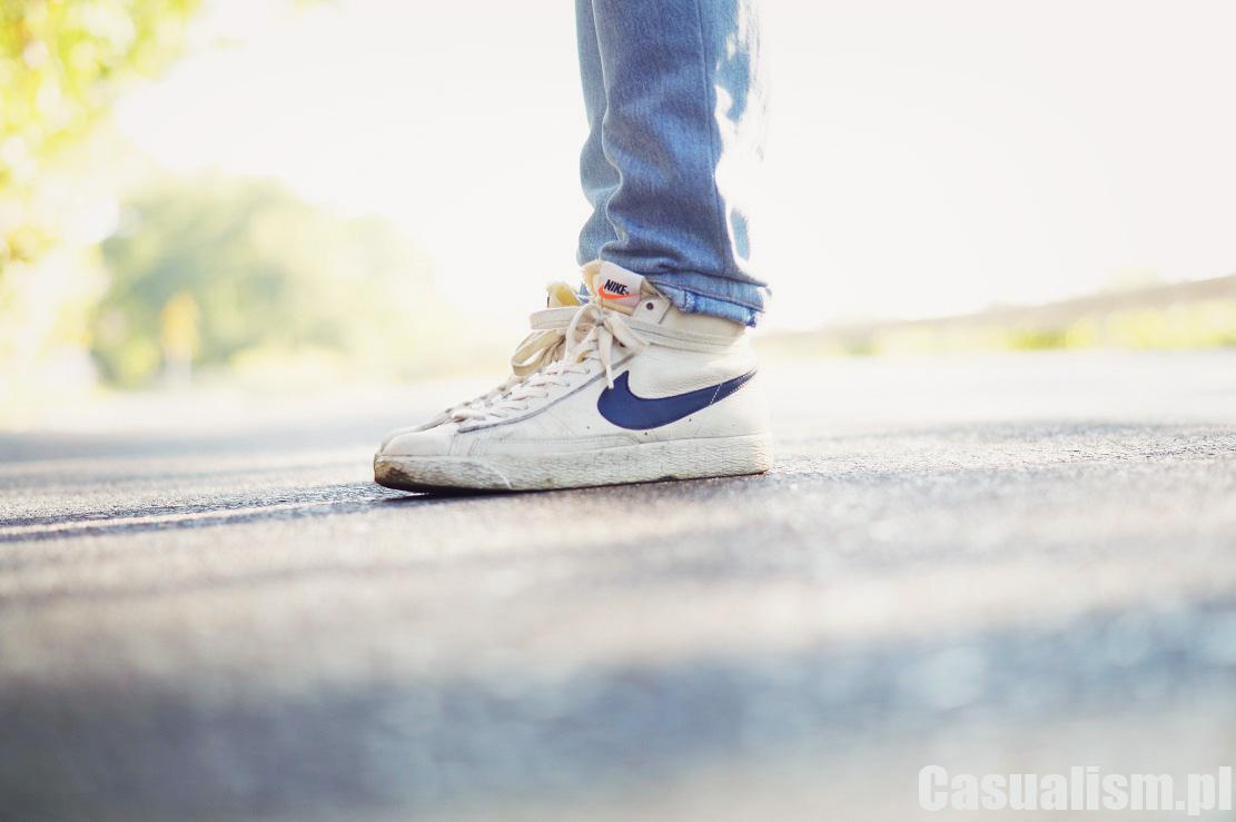Wysokie Nike Blazer