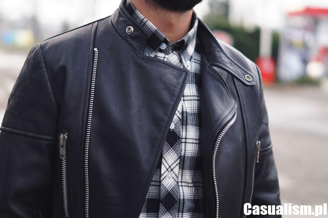 Skórzana kurtka motocyklowa