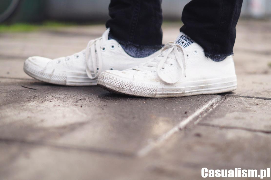 Białe Converse