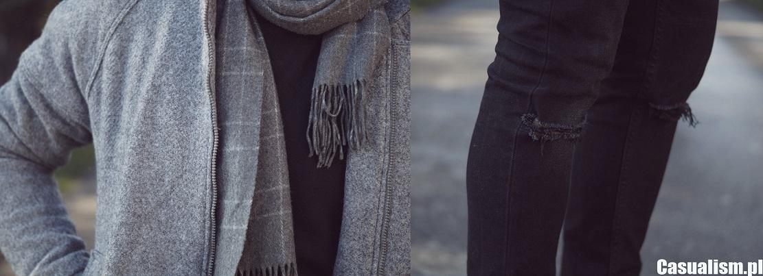 Wełniane szaliki