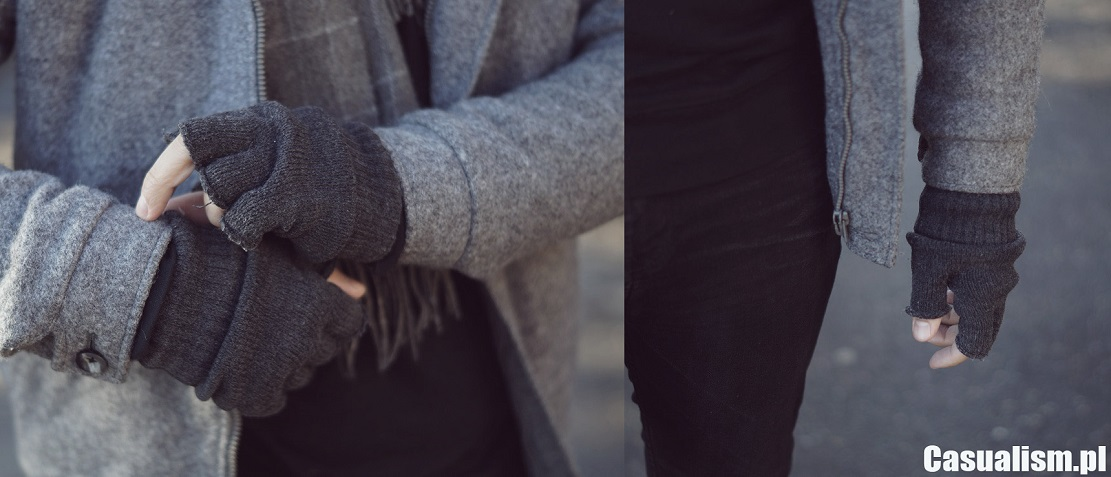 Rękawiczki bez palców