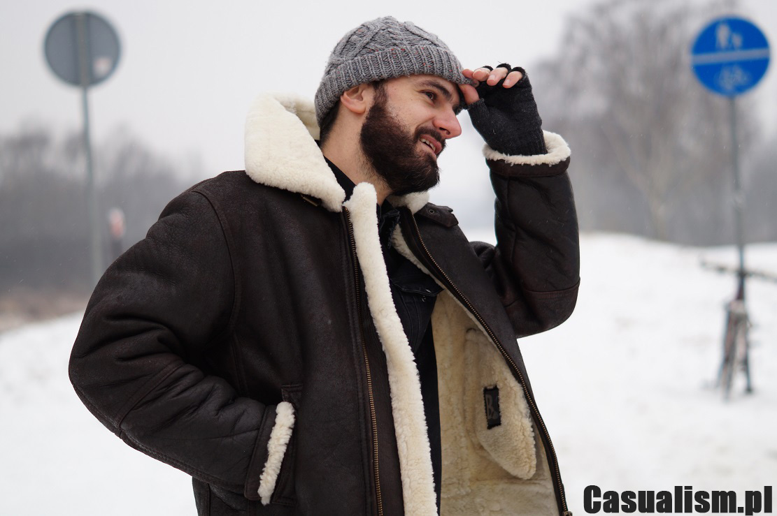 b06915c46e824 Kurtka skórzana kożuch - Casualism Blog Moda Męska