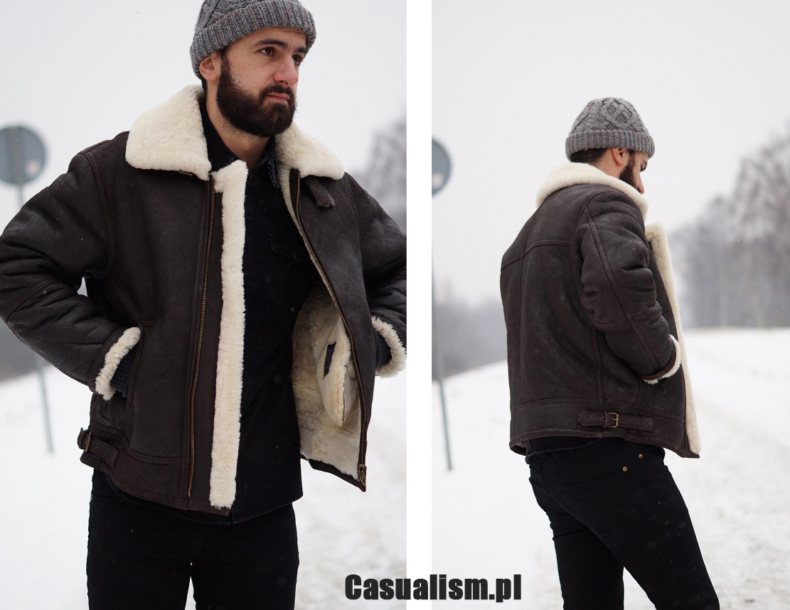 68e3ba26da915 Kurtka skórzana kożuch - Casualism Blog Moda Męska
