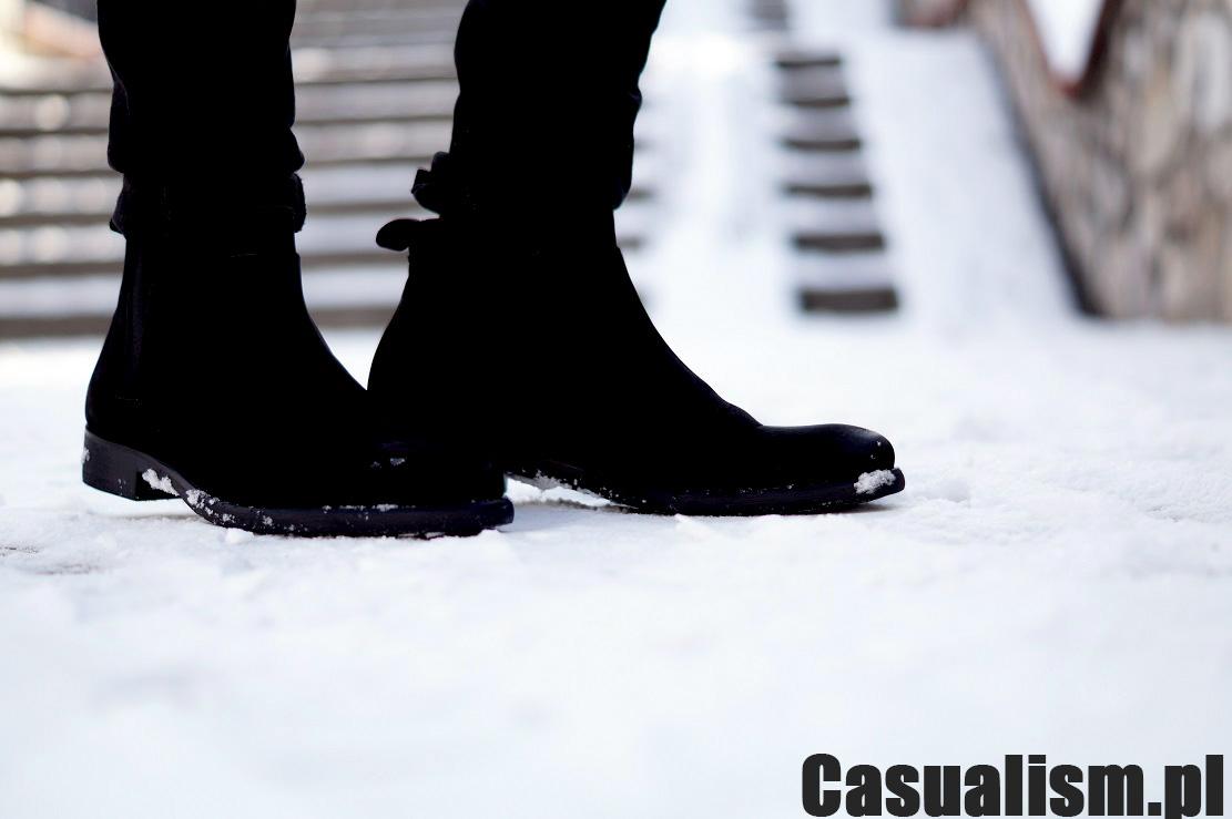 Buty sztyblety, trzewiki męskie, buty w typie chelsea, buty chelsea