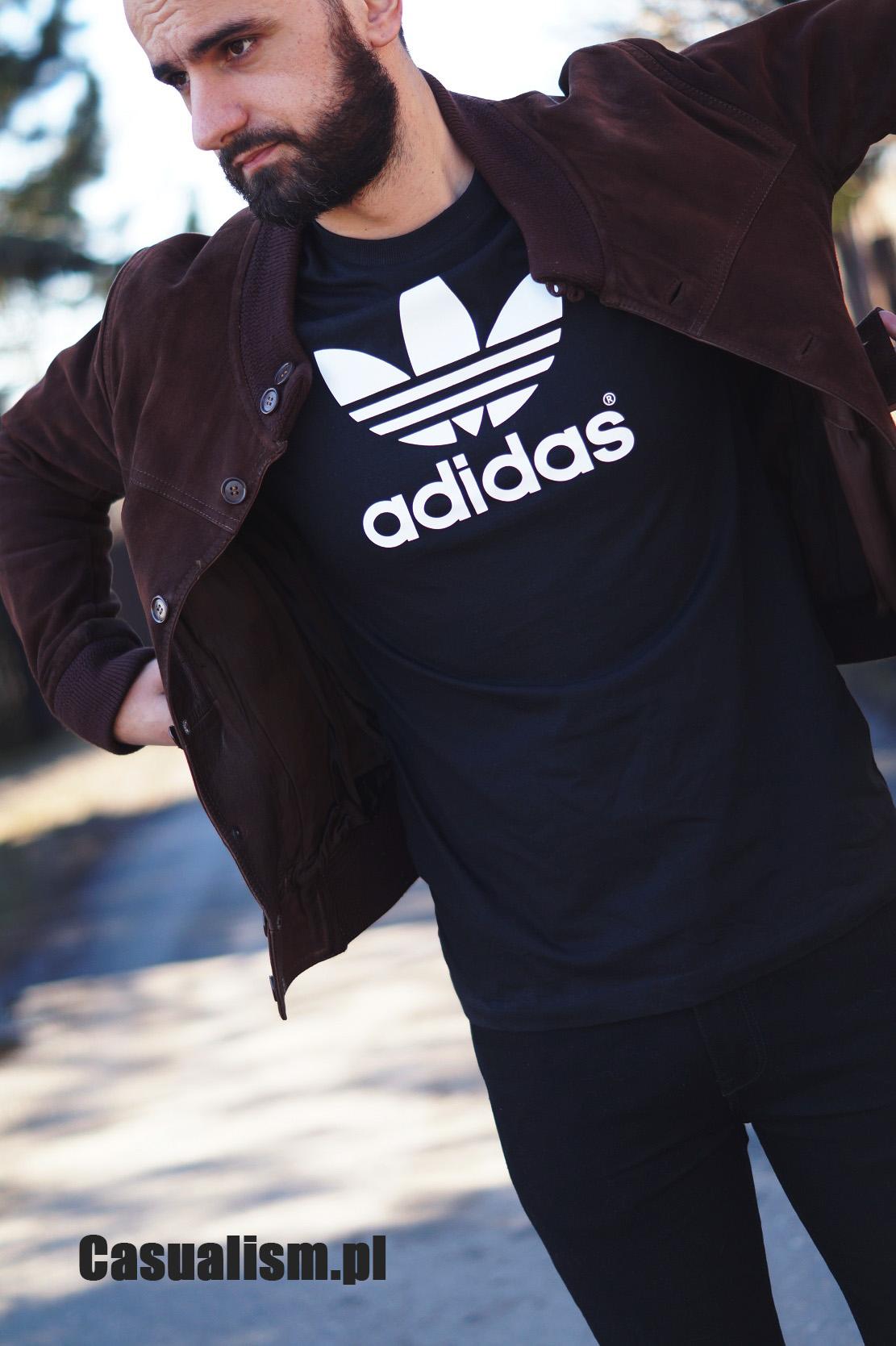 Męski t shirt Adidas