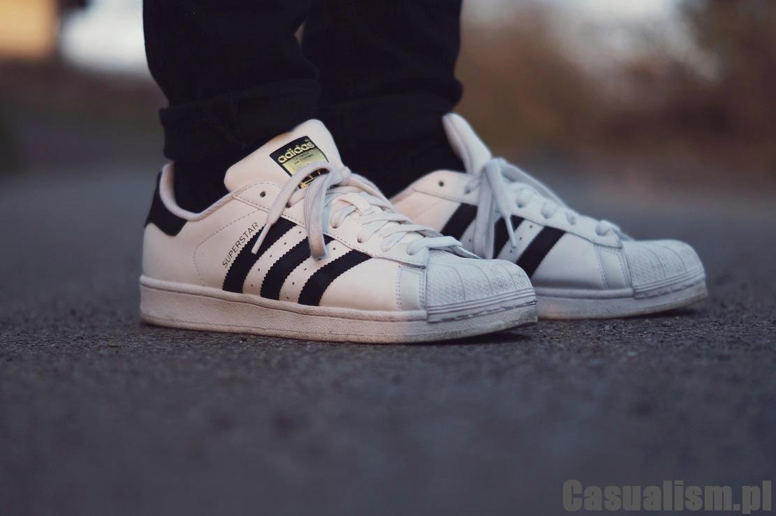 Buty Adidas Superstar, męski Adidasy Super Star, Adidas Superstar dla mężczyzny.