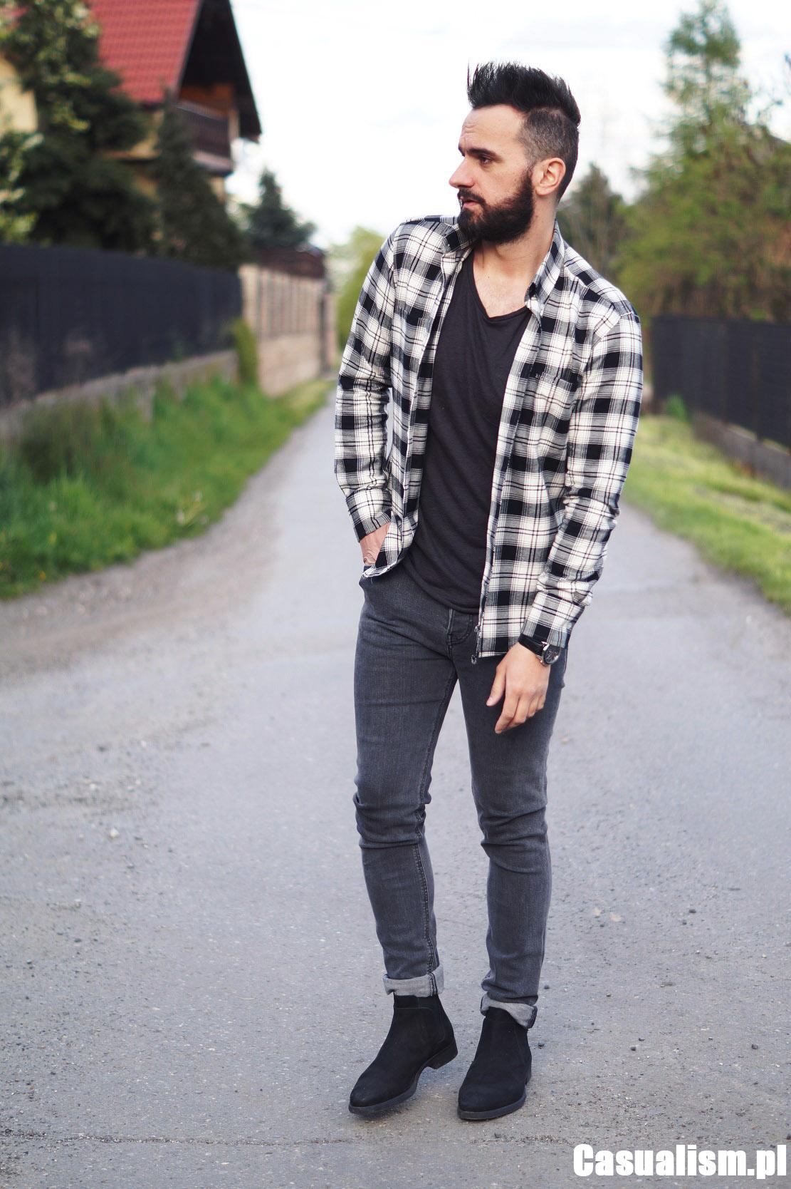 Koszula flanelowa męska, męskie koszule flanelowe. Jaką wybrać męską koszulę flanelową? Koszula flanelowa w kratę, czy to dobry wybór?