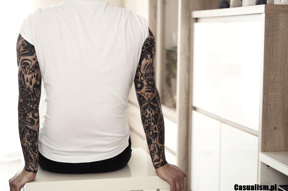 Tatuaż rękaw, rękawy męskie, tatuaże rękawy. Tatuaże na rękach, tatuaż na przedramieniu, tatuaż na bicepsie. Męski tatuaż, tatuaż
