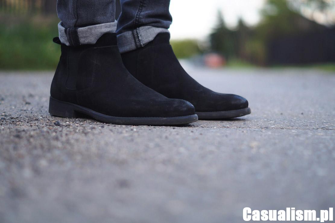 Buty chelsea, buty sztyblety, buty za kostkę, buty ze skóry za kostkę