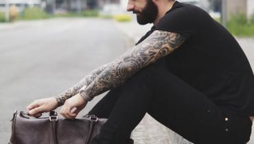 Skórzana torba męska, męska torba ze skóry, skórzana torba podróżna, torba dla faceta, męska torba.