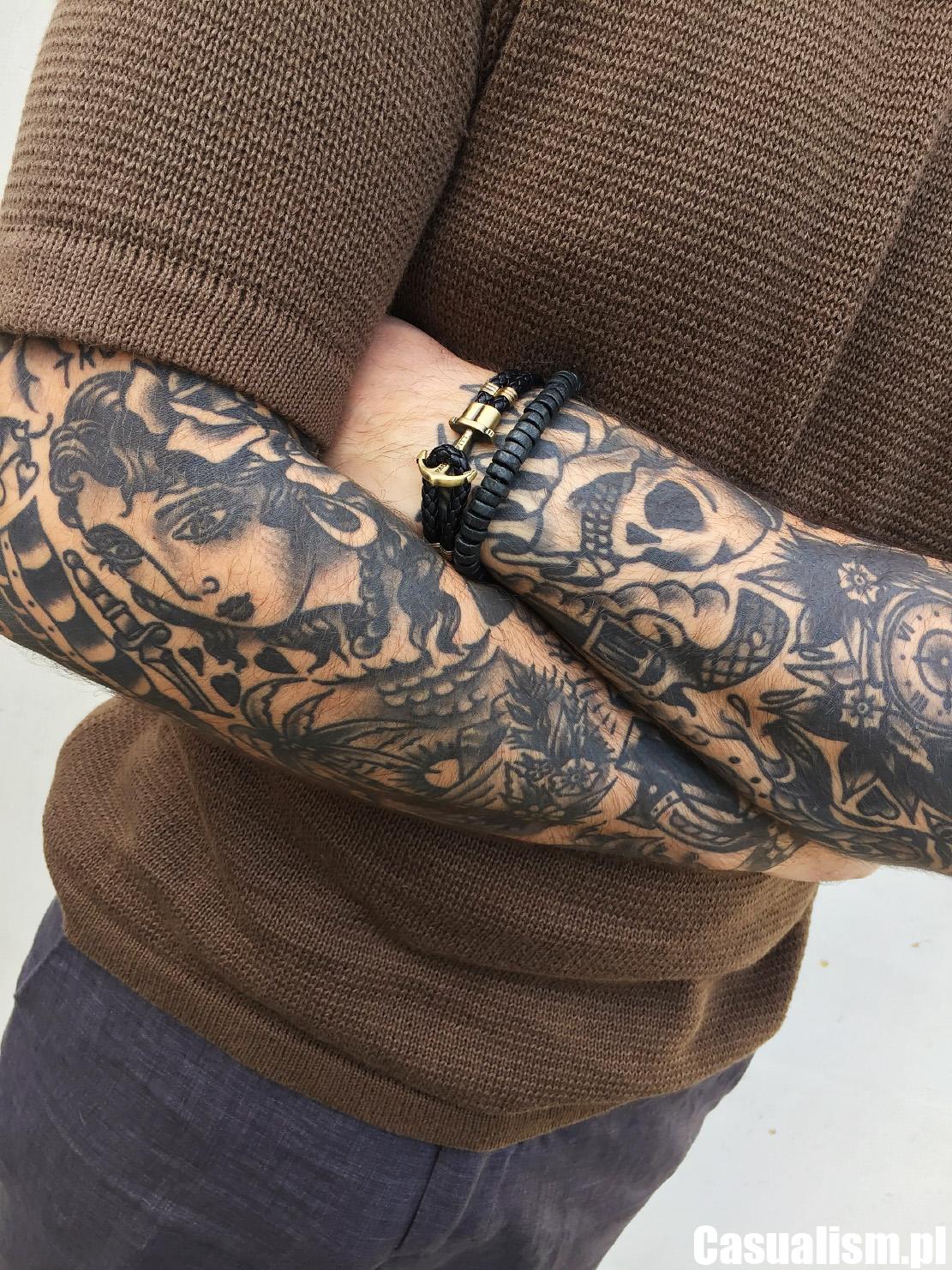 Tatuaże rękawy, rękaw tatuaż, tatuaż rękaw, rękawy męskie, tatuaże rękawy tradycyjne, tatuaż tradycyjny, styl tradycyjny
