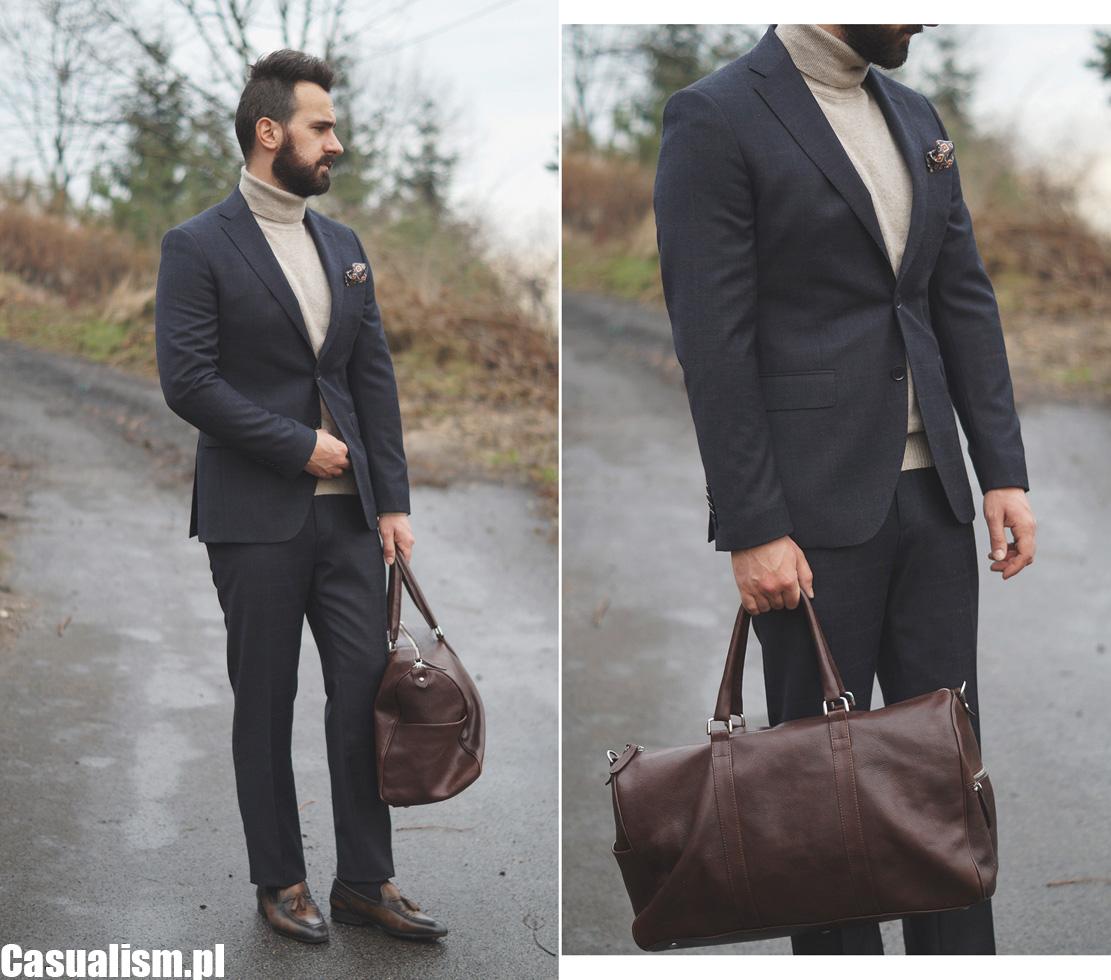 Szare ubrania eleganckie, szare męskie ubrania, męski garnitur flanelowy, męskie garnitury z flaneli, garnitur szary w kratę, garnitur w kratę, garnitur sportowy