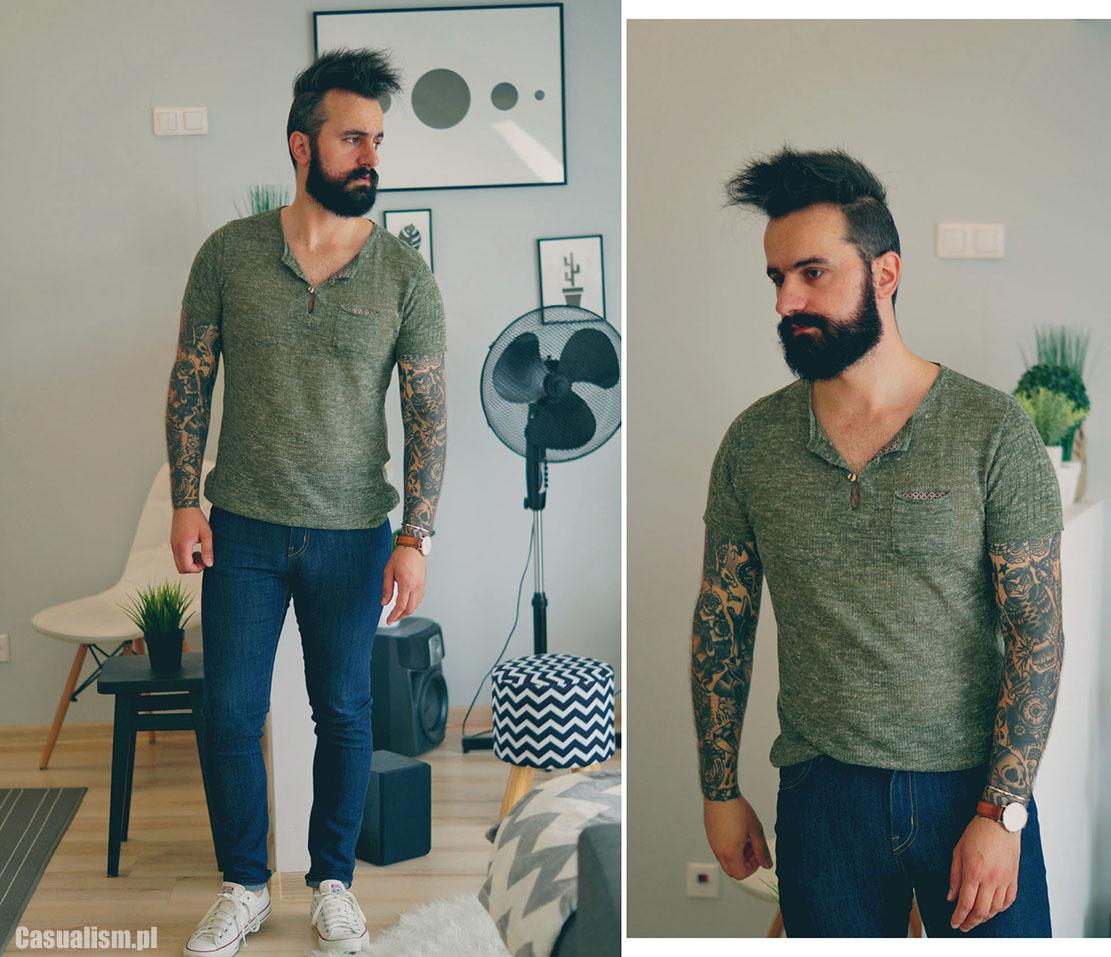 letni sweter, koszulka sweter, swetrowa koszulka, koszulka sweterek, sweter dla faceta, sweterek dla mężczyzny, męski sweter krótki rękaw