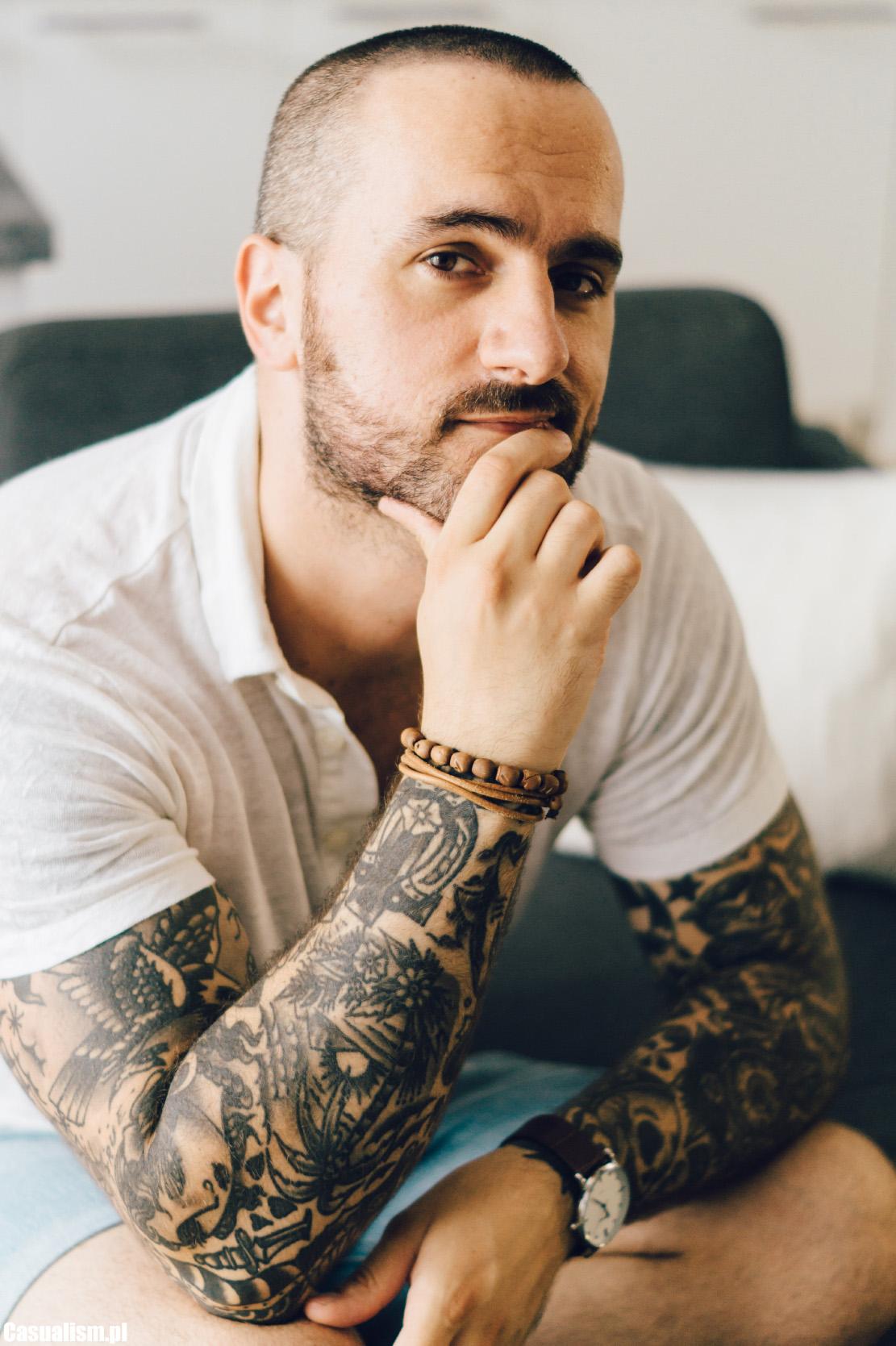 łysa Głowa Bardzo Krótkie Włosy Casualism Blog Moda Męska I Styl