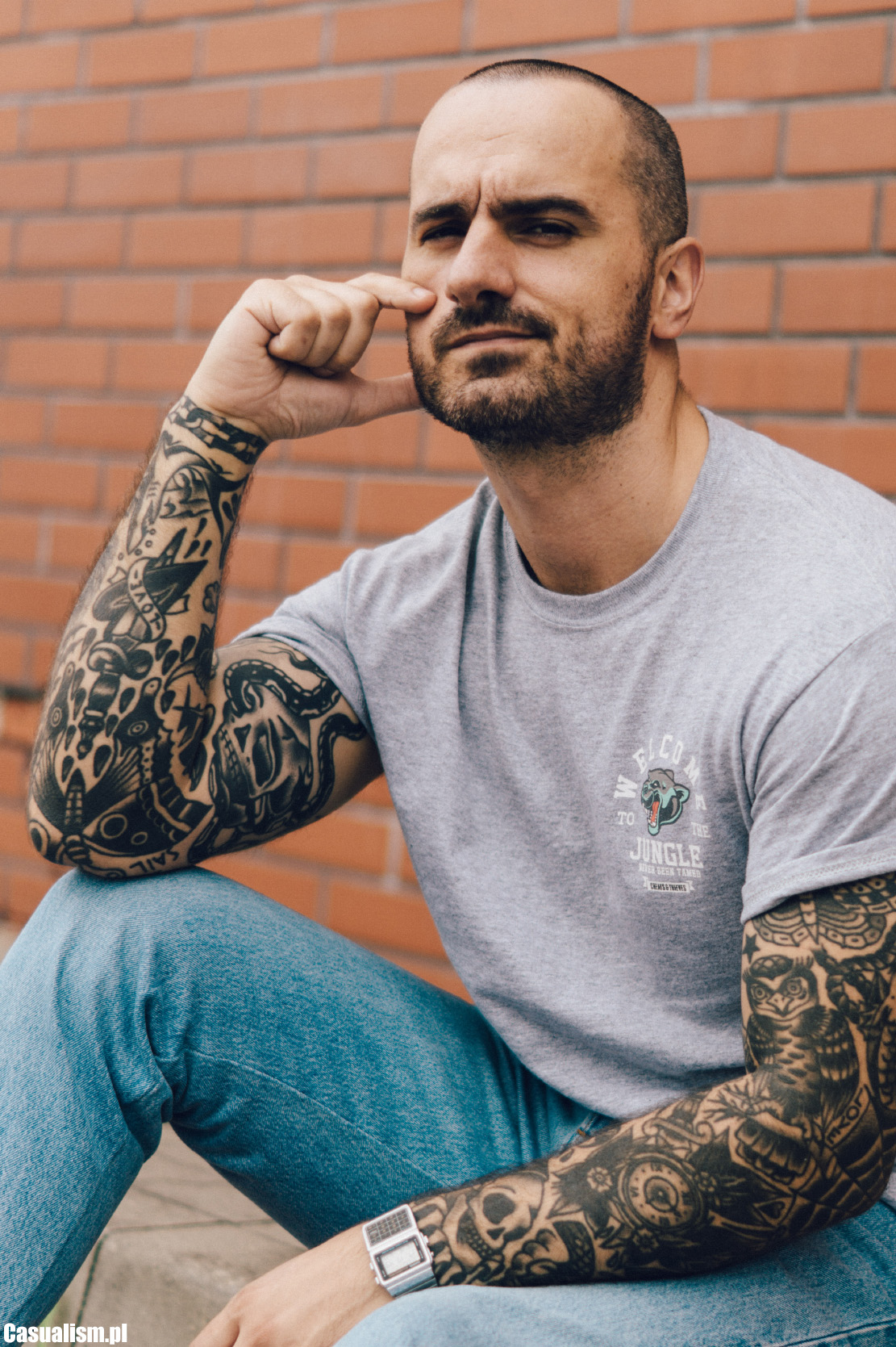 łysa Głowa Bardzo Krótkie Włosy Casualism Blog Moda Męska