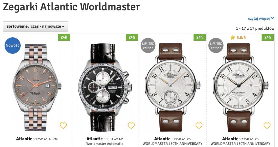 zegarki męskie Atlantic. zegarki Atlantic, zegarki dla faceta Atlantic, zegarek męski Atlantic